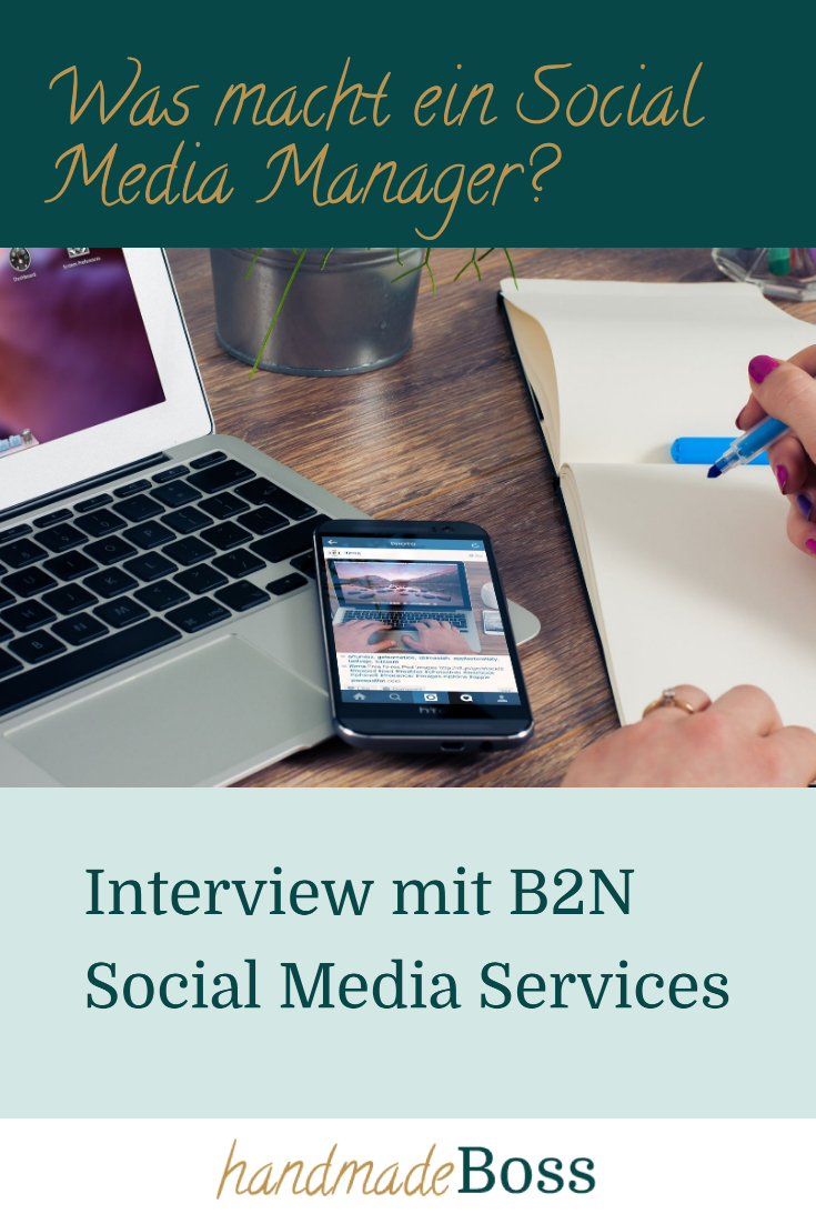 Interview B2N Social Media Services -Pinterest-Grafik