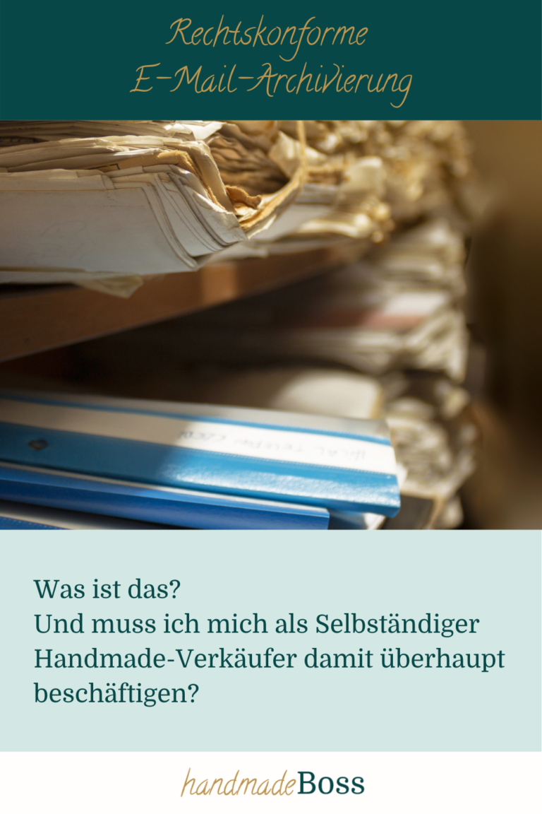 Rechtskonforme E-Mail-Archivierung